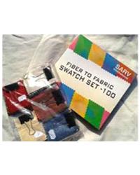 Fiber to Fabric Swatch Set 100